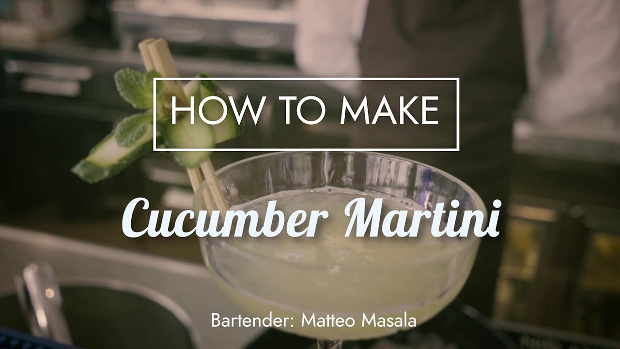 Cocktails and dreams: Come si prepara il Cucumber Martini
